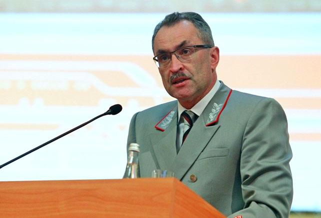 Начальником Южно-Уральской железной дороги назначен 54-летний Анатолий Храмцов, до настоящего мом