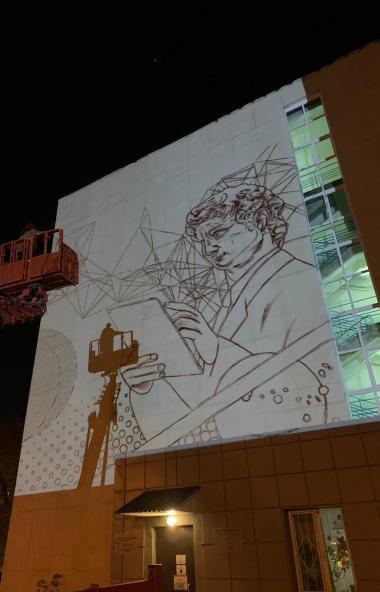 Компания «Ростелеком» и Ассоциация художников «Graffiti Russia» подарят жителям Челябинска необыч