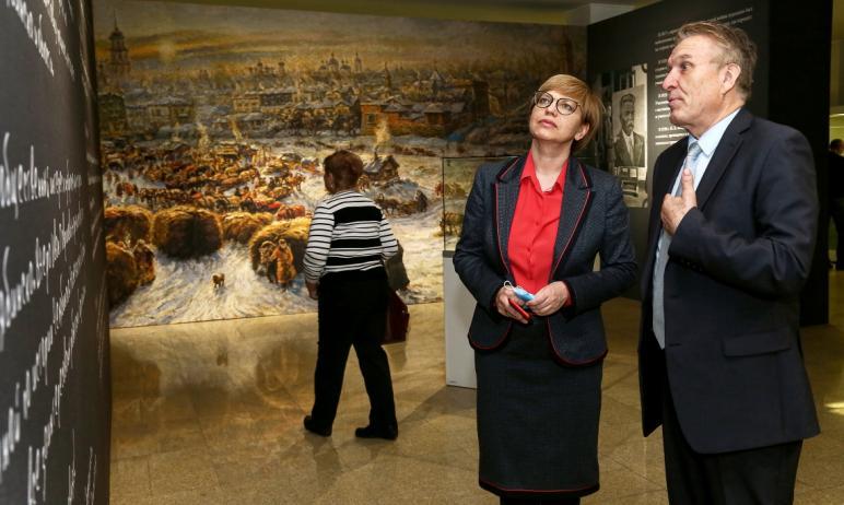 В Челябинске в Государственном историческом музее Южного Урала начала работу большая выставка, по