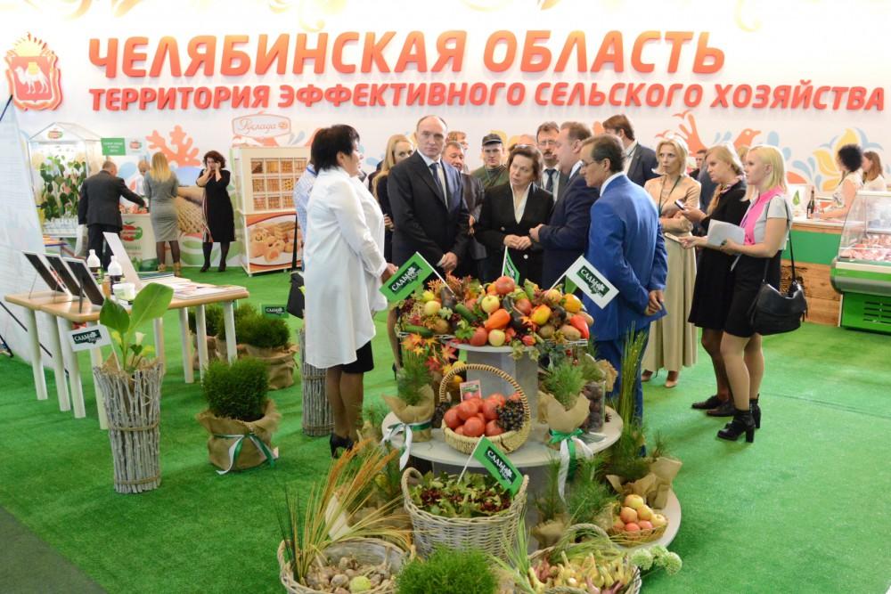 На выставке свою продукцию представили сельхозпроизводители Югры и Ямала, Курганской, Свердловско