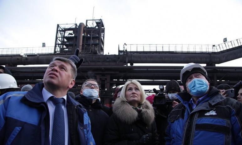Заместитель председателя правительства Российской Федерации Виктория Абрамченко назвала ПАО «Мече