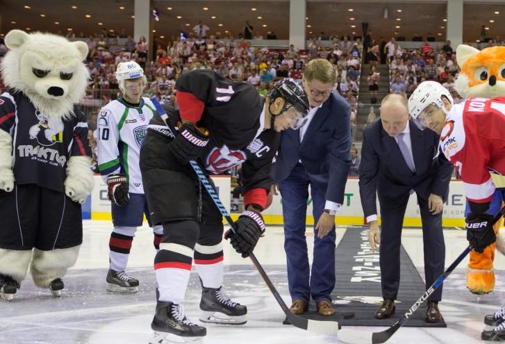Перед начало сезона Дубровский ставил задачу перед руководством хоккейного клуба в этом году