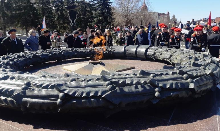 Сегодня, 19 апреля, в Челябинске состоялось торжественное открытие регионального этапа всероссийс