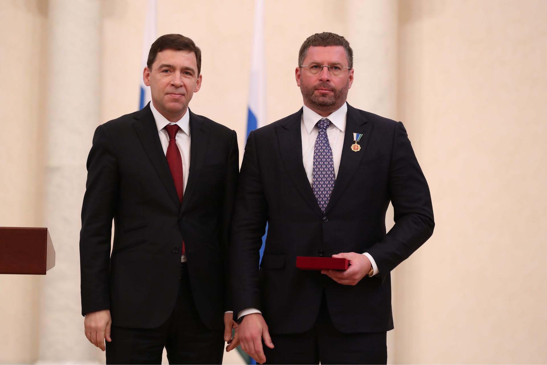 Торжественная церемония вручения государственных наград Российской Федерации и знаков отличия Све