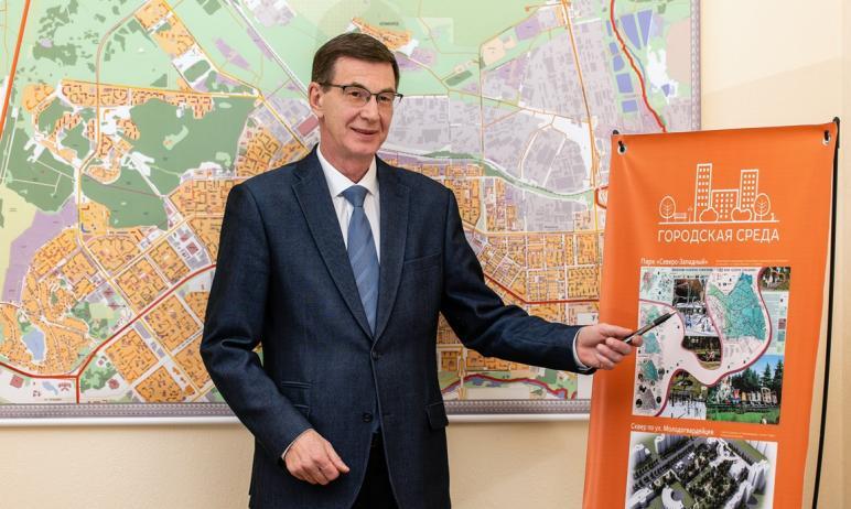 В Курчатовском районе Челябинска планируется масштабное благоустройство. Появление новой пешеходн