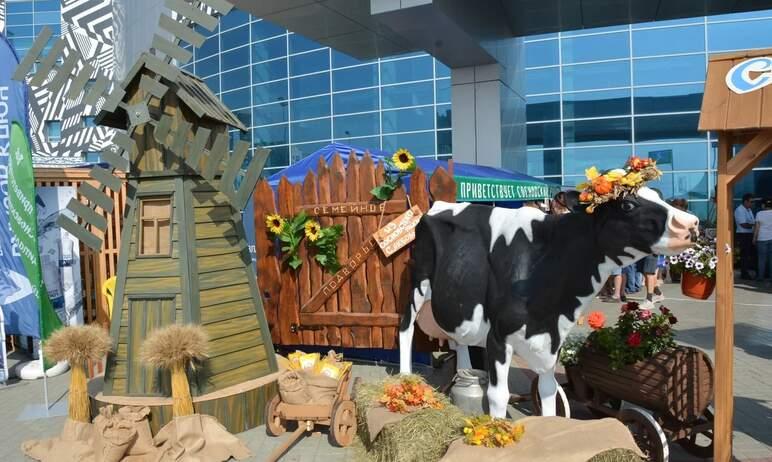 В Челябинске сегодня, 19 августа, торжественно открылась главная сельскохозяйственная выставка ре