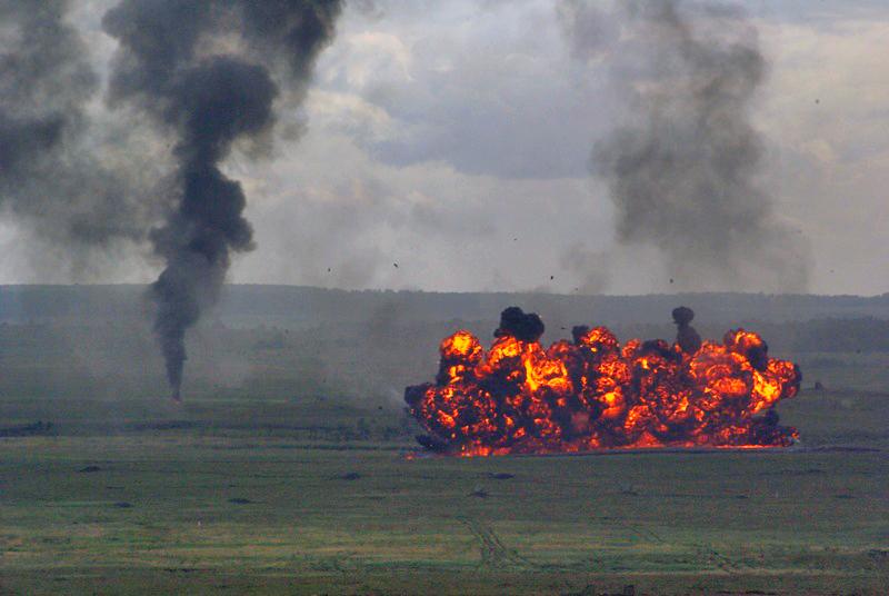 Напомним, взрывные работы приостанавливались на полигонах Центрального военного округа на ноябрьс