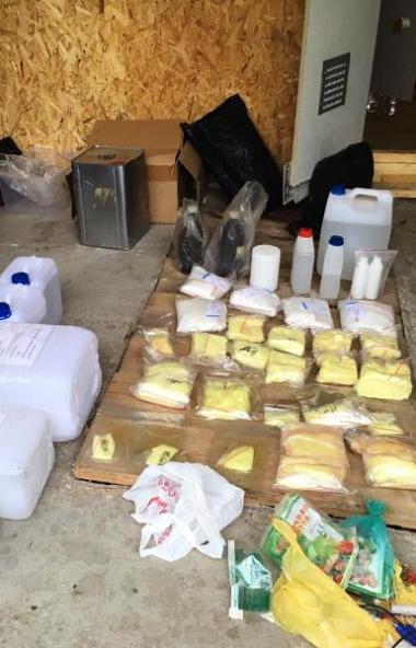 Сотрудники Уфимского линейного управления выявили и пресекли деятельность нарколаборатории в Аше