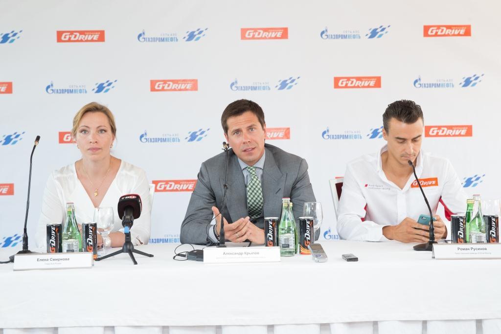 Руководитель проекта G-Drive Racing, директор по региональным продажам «Газпром нефти» Александр