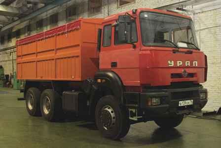 Новое семейство грузовых автомобилей сельскохозяйственного назначения разработано по техническому