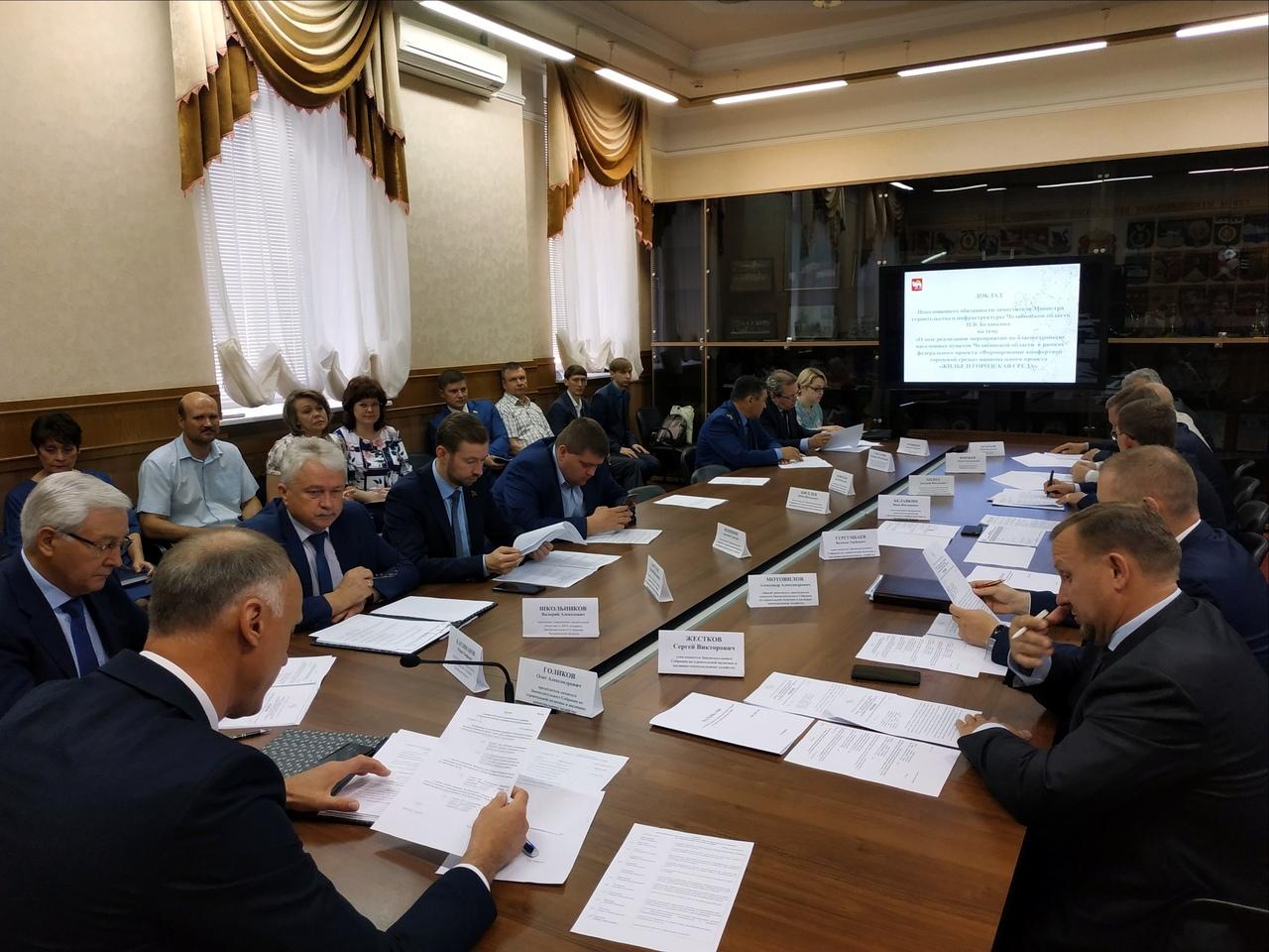 В 2019-м году на благоустройство дворовых территорий и общественных пространств в Челябинской обл