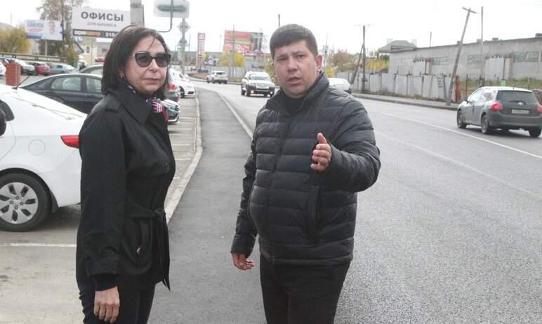 Глава Челябинска Наталья Котова сегодня, 16-го сентября, проинспектировала ход строительства доро