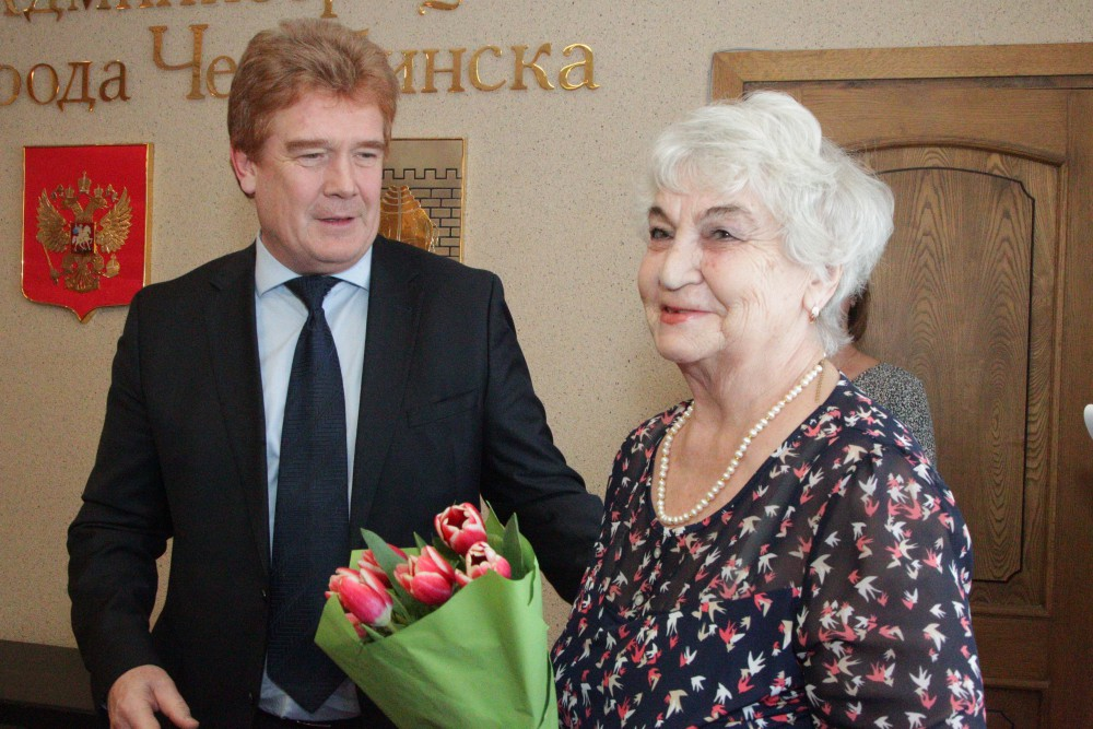 Глава Челябинска Владимир Елистратов сегодня, пятого марта, на торжественном приеме по случаю при