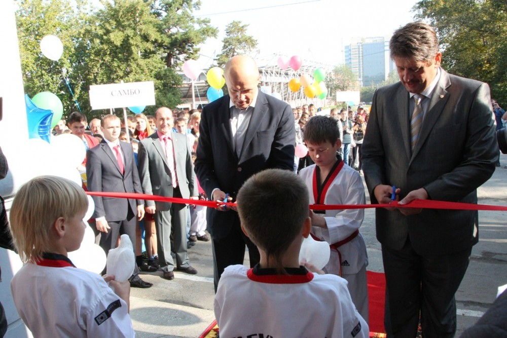 Муниципальная спортшкола разместилась в здании Дворца спорта «Динамо», где теперь будут проводить