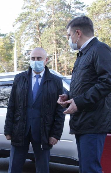 Безопасность и качество челябинских дорог сегодня, 13-го октября, проверил главный федеральный ин