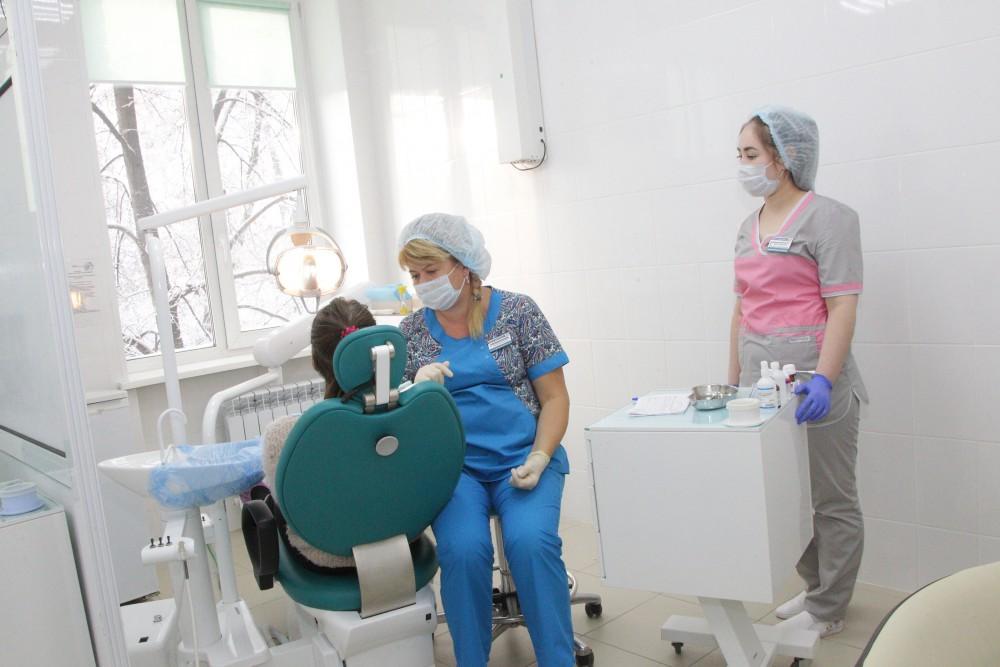В Челябинске детскую поликлинику на Краснознаменной, 24, которая после присоединения в ноябре 201