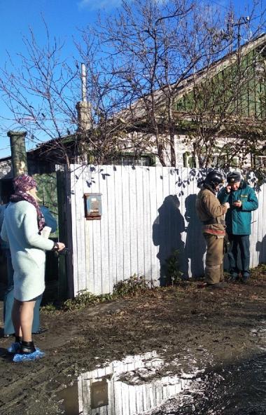 В поселке Роза Коркинского муниципального района (Челябинская область) сегодня утром, 23-го октяб