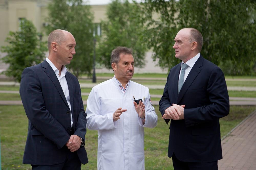 Губернатор Челябинской области Борис Дубровский сегодня, 27 июня, посетил открывшуюся после обнов