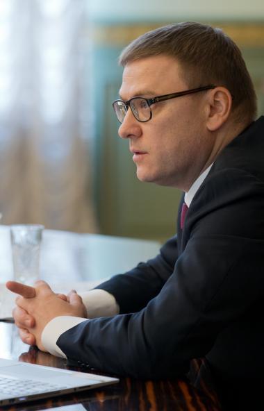 Губернатор Челябинской области Алексей Текслер дал первое поручение своему новому заместителю Ана