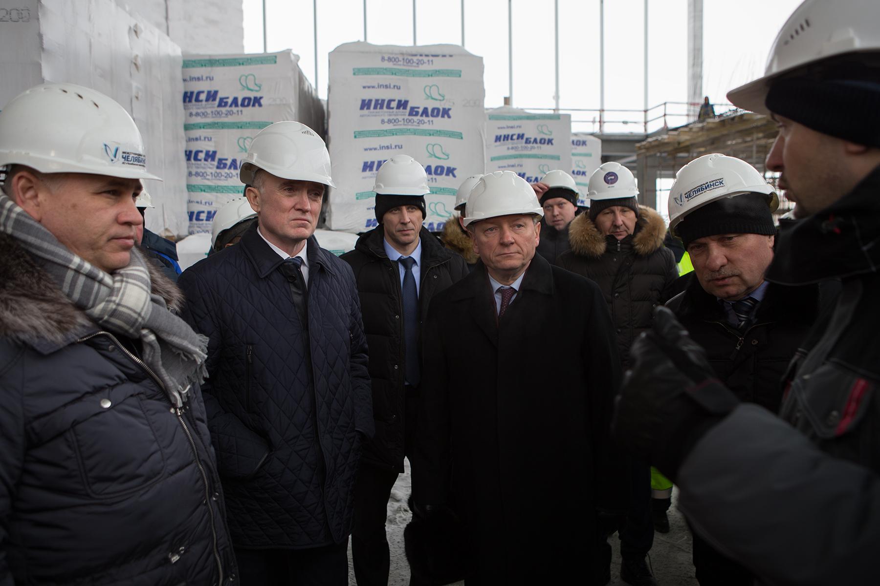 Заместитель министра транспорта РФ Александр Юрчик высоко оценил потенциал Челябинского аэропорта