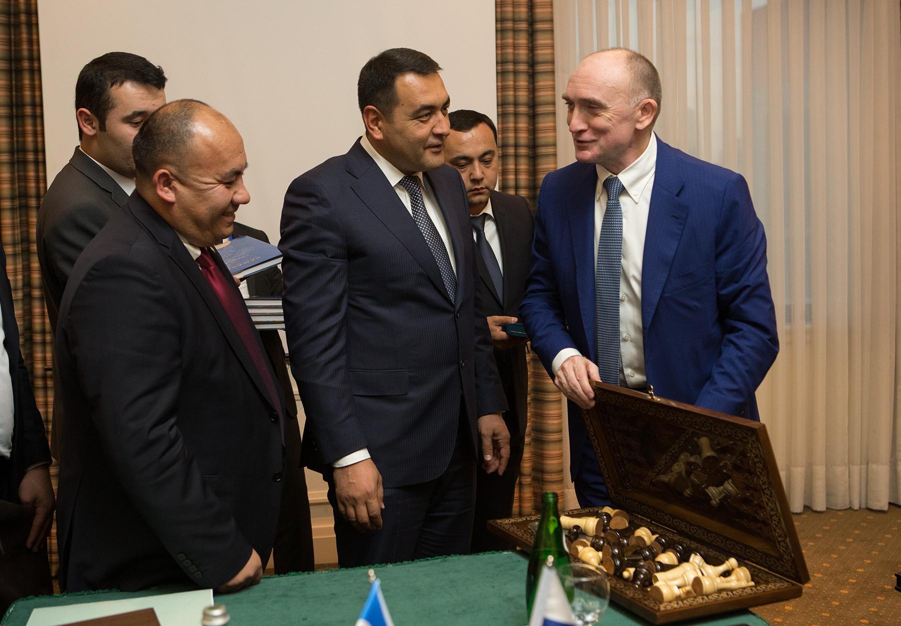 Правительство Челябинской области и хокомият Намаганской области Республики Узбекистан заключили