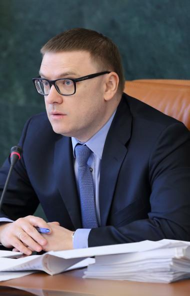 Алексей Текслер, на выборах восьмого сентября одержавший убедительную победу в б