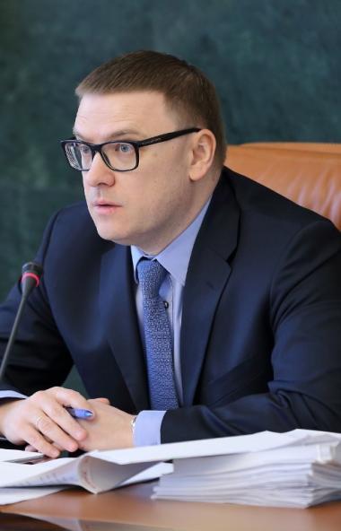 Губернатор Челябинской области Алексей Текслер в ходе визита в Сосновский район