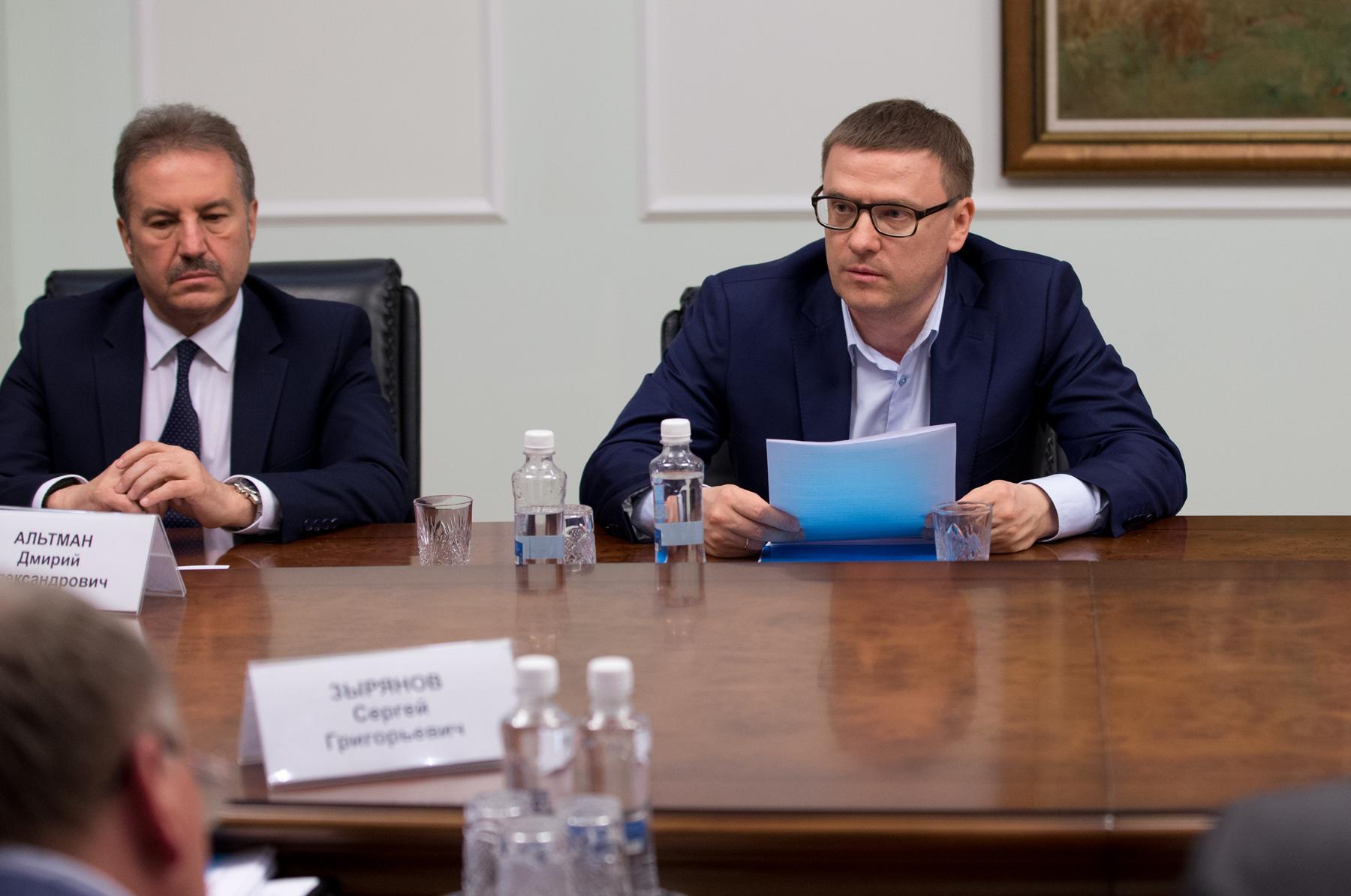 В пятницу, 24 мая, глава региона Алексей Текслер встретился с представителями э