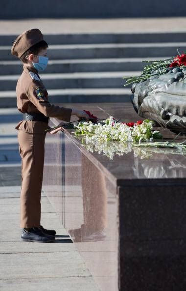 В день 75-летия Победы советского народа в Великой Отечественной войне, девятого мая 2020 года, г