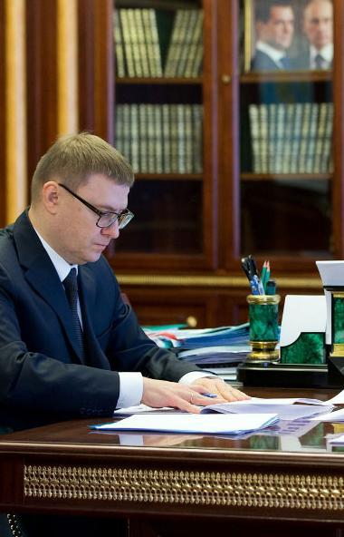 Губернатор Алексей Теслер провел рабочую встречу с руководителем УФНС России по Челябинской облас