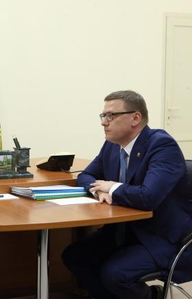 Президент России Владимир Путин встретился с временно исполняющим обязанности губернатора Челябин