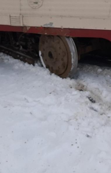 Челябинские трамваи начали сходить… с рельсов. Сегодня днем, третьего марта,