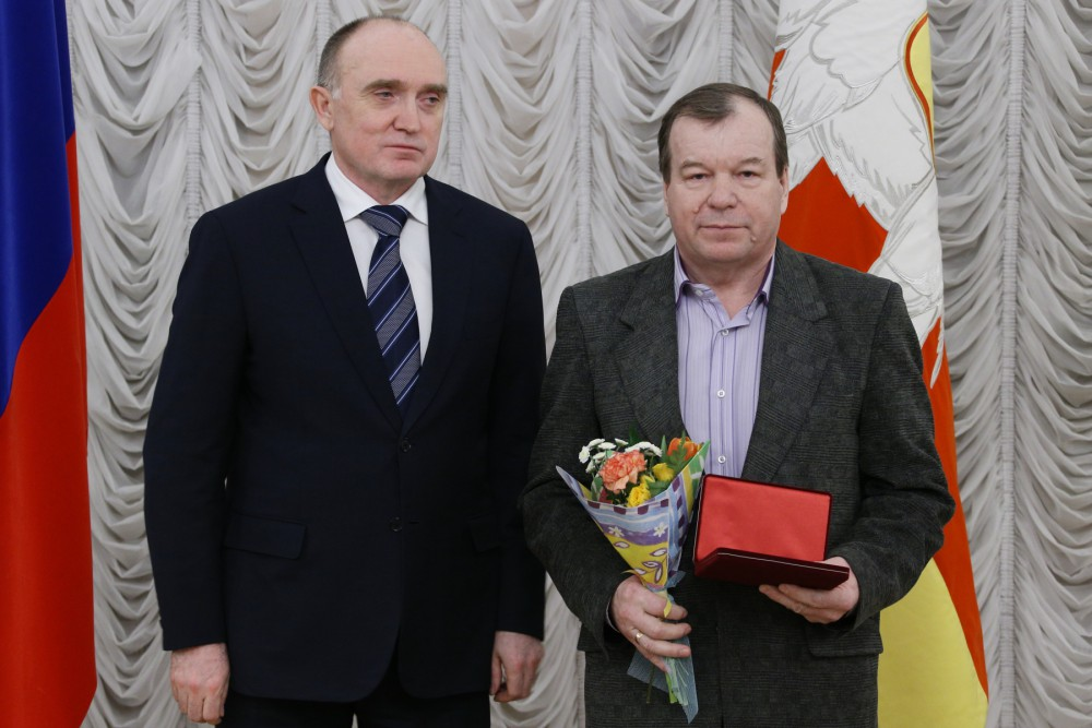 В торжественном мероприятии приняли участие 20 жителей Южного Урала – рабочие, врачи, ученые, фер