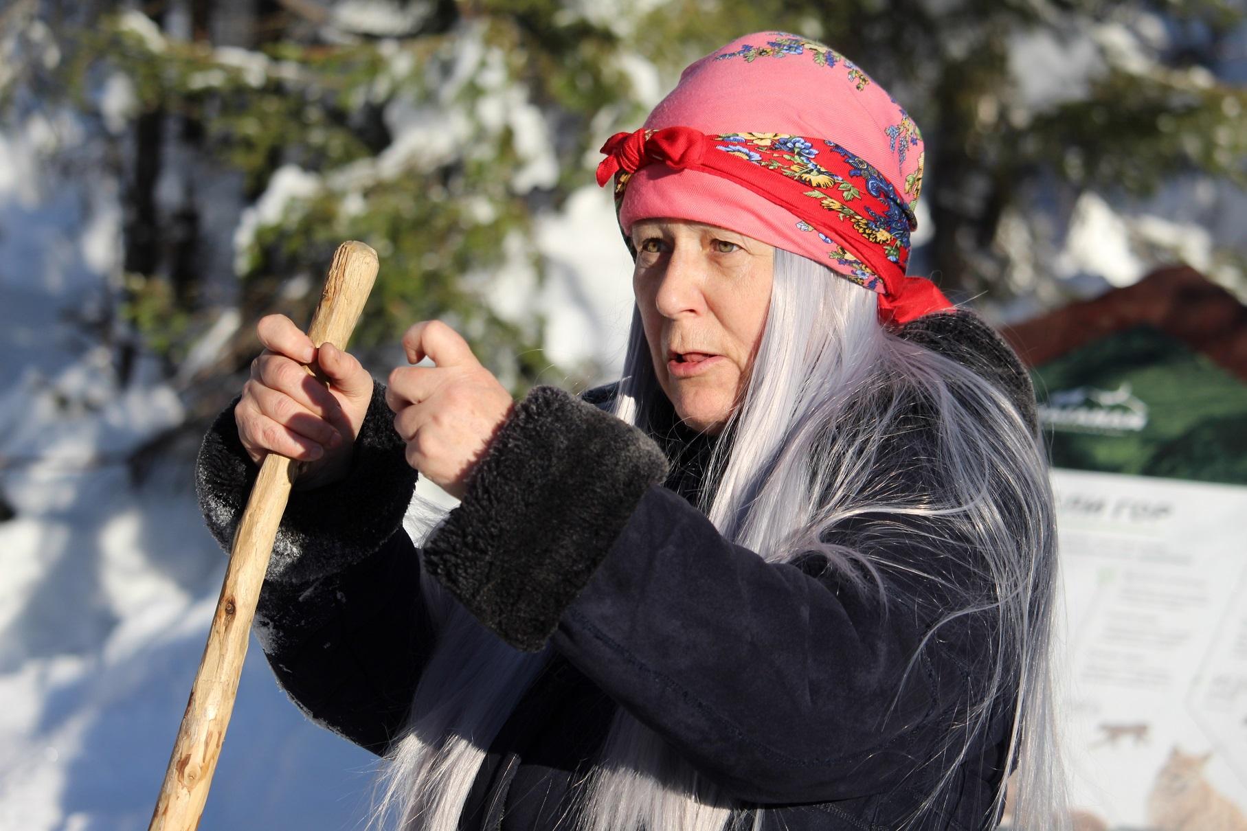 К своему 105-летию добрый дух таганайских лесов (Челябинская область) Киалимская бабушка