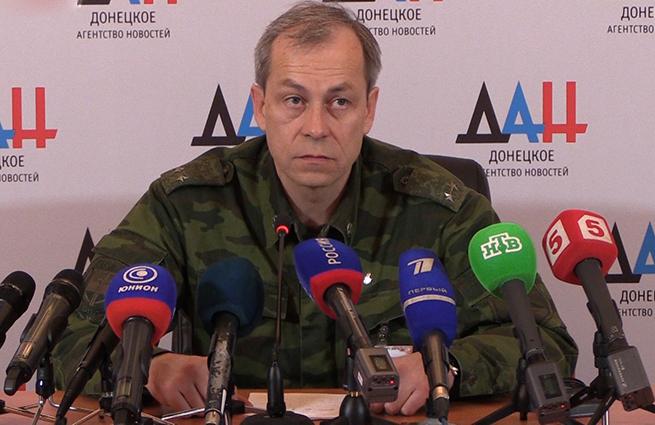 По данным ополченцев, под огонь украинских силовиков попали Есиноватая, Широкино, Горловка, Спарт