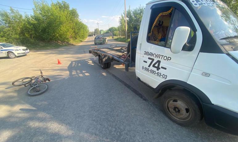 В Челябинске машина «Газель», предназначенная для эвакуации автомобилей, сбила 13-летнего ребенка