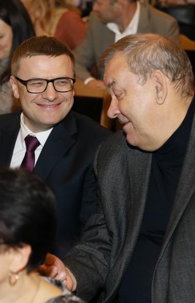 Губернатор Челябинской области Алексей Текслер и генеральный директор Государств