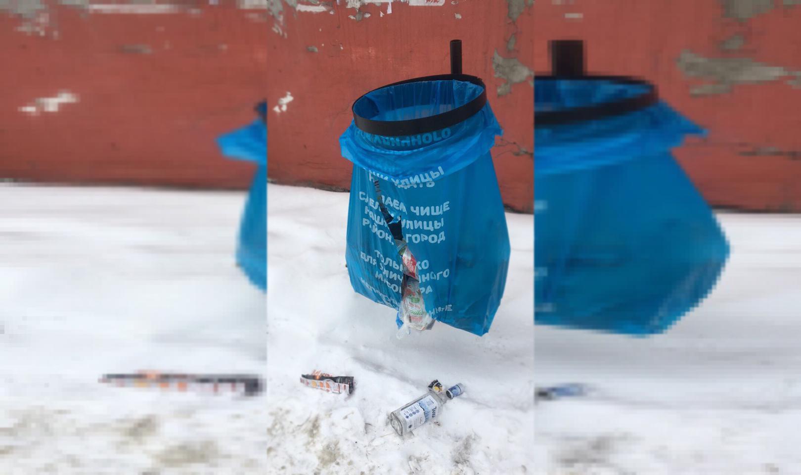 В Советском районе Челябинска завершена установка урн для мусора нового типа. Теперь бытовые отхо