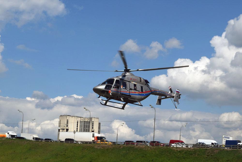 В Челябинск прилетят новейшие медицинские вертолеты отечественного производства. Воздушных спасит