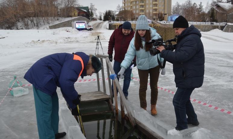 В Челябинской области завершается подготовка к празднованию Крещения Господне. Главная цель – обе