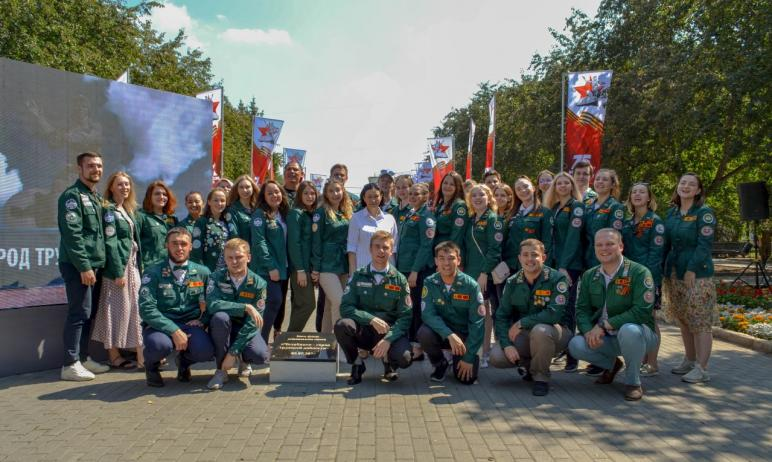 Глава Челябинска Наталья Котова поздравила бойцов и ветеранов студенческого движения с Днем Росси