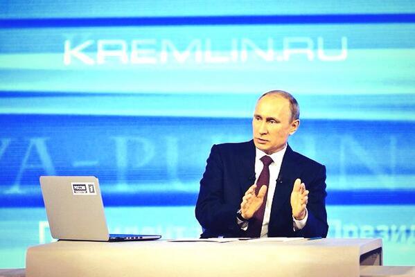 Владимир Путин напомнил, что национально-этнический состав Крыма отличается от юго-востока Украин