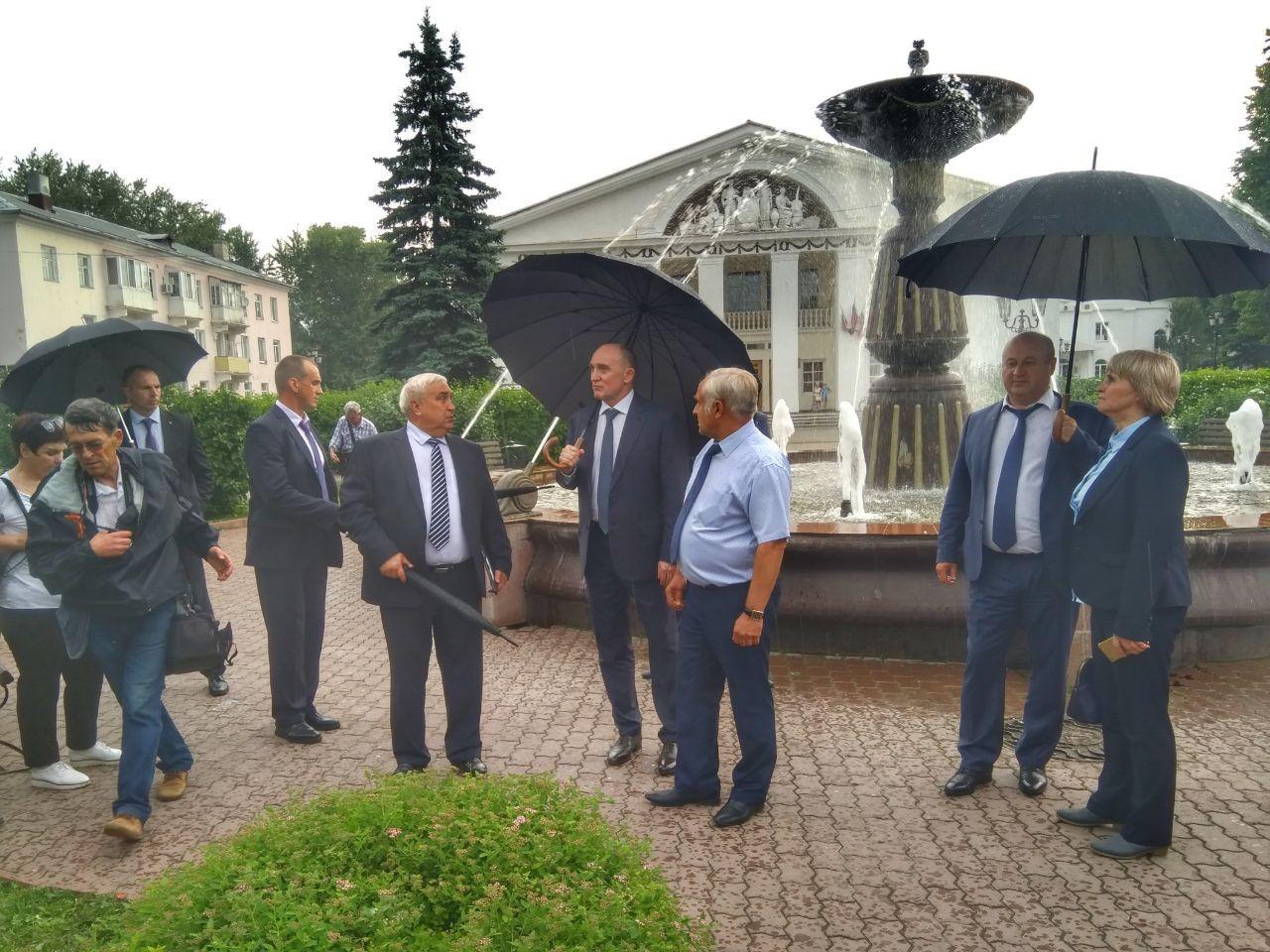 Губернатор Челябинской области Борис Дубровский сегодня, 28 июня, в рамках рабочего визита на «Аш