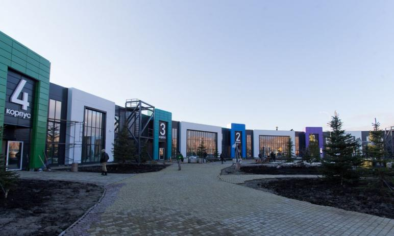 Новый инфекционный центр ОКБ №3 в Малой Сосновке под Челябинском, принявший первых пациентов 13 н