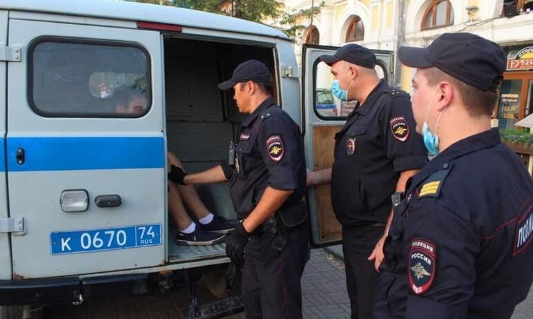 В Челябинске полицейские задержали местного жителя, который, находясь в состоянии алкогольного оп