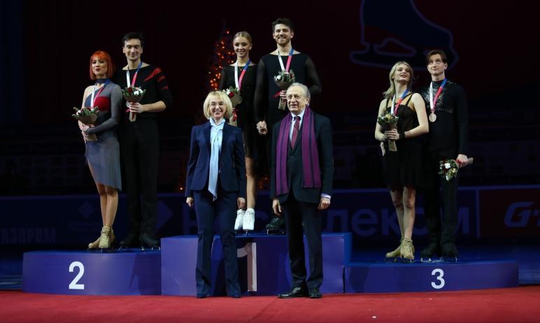 В челябинской ледовой арене «Трактор» сегодня, 27 декабря, состоялась церемония награждения побед