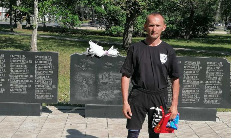 Ветеран боевых действий из Челябинска Максим Уфимцев