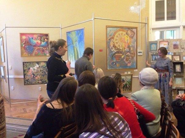 Презентация «душевной» выставки состоялась вчера, третьего февраля. Гостей встреча