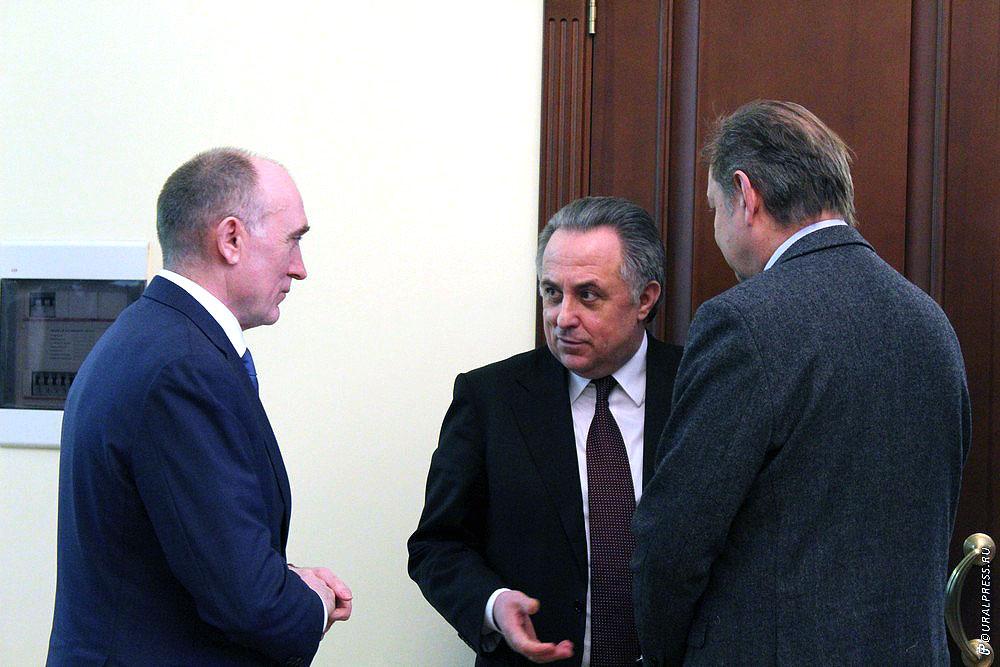 Вице-премьер правительства РФ Виталий Мутко остался доволен поездкой в Челябинск