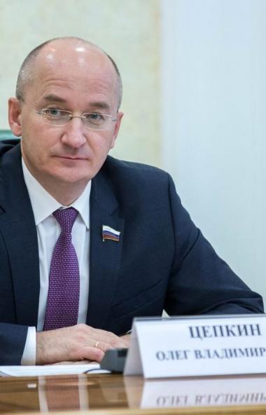 Партия «Единая Россия» предложит кандидатуру вновь избранного депутата Олега Цепкина на пост сена